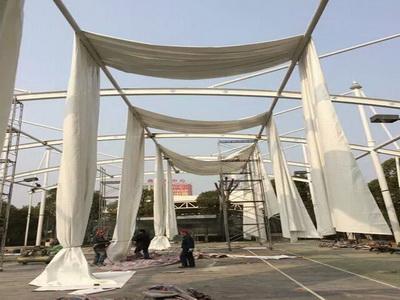 厂房膜结构安装