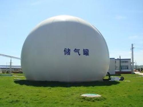 沼气双膜储气柜,气浮池盖膜结构工程,沼气膜结构