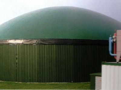 废臭气收集装置,废气收集贮罐膜结构,反吊氟碳纤维膜结构
