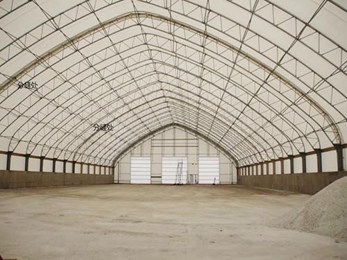 工业区膜结构,厂房膜结构